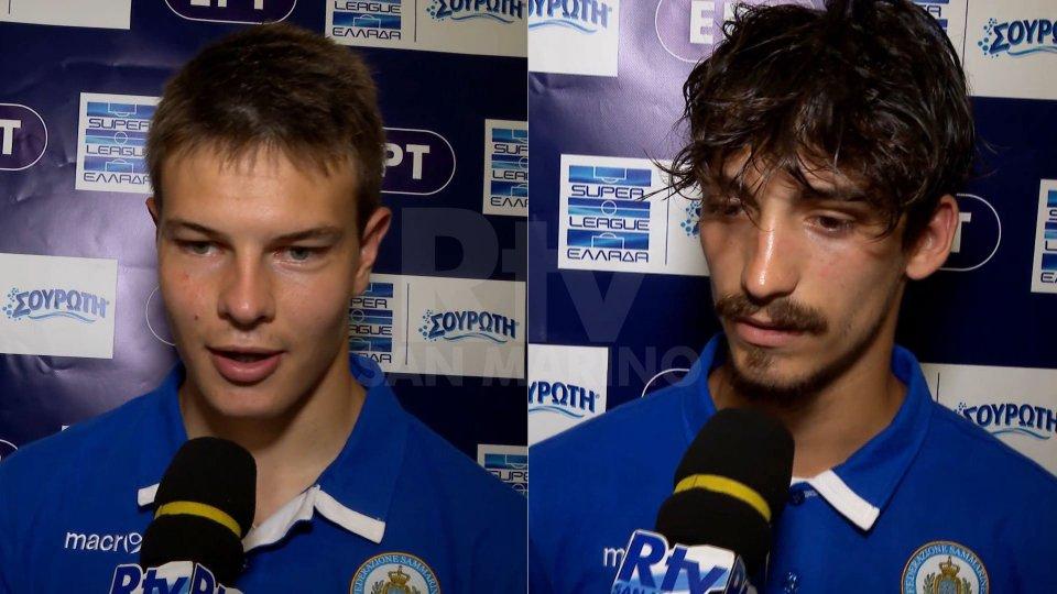 Mirco De Angelis e Luca CecchettiU21, i commenti di Mirco De Angelis e Cecchetti