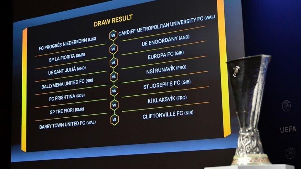 Europa League: La Fiorita contro Engordany, il Tre Fiori nelle FarOer
