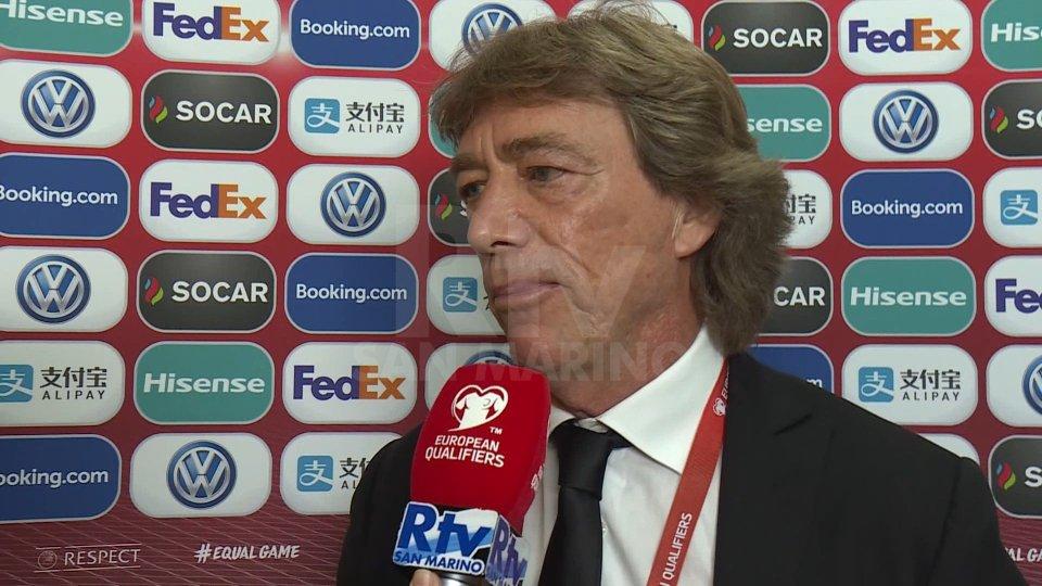 """San Marino - Kazalistan. Bonini """"Qui abbiamo giocato con l'atteggiamento giusto"""""""
