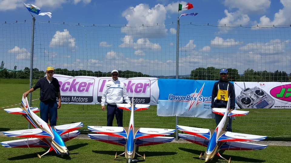 Aerobatic Team San Marino in Austria per una delle  tappe di coppa del mondo di acrobazia F3A