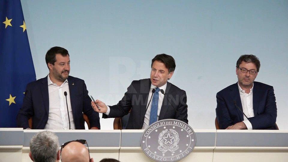 La conferenza di Palazzo Chigi