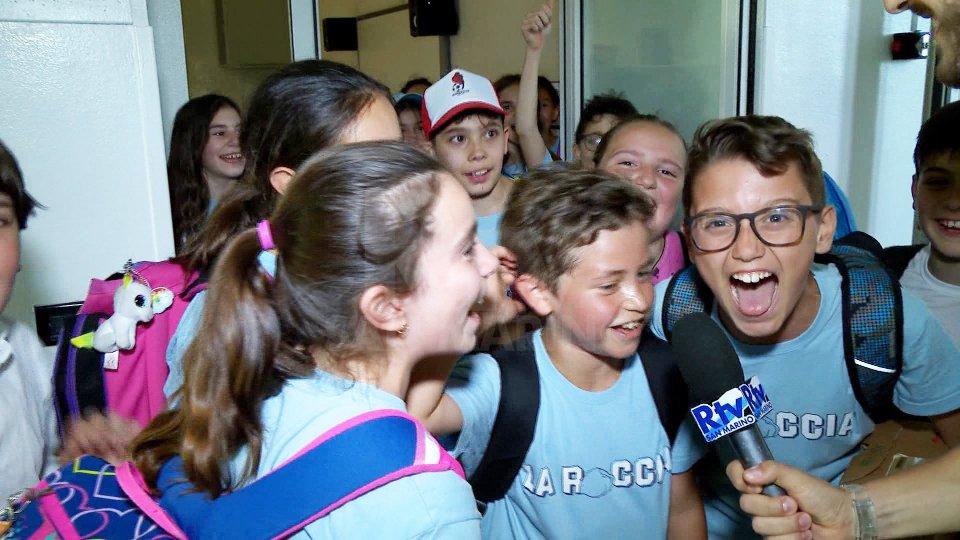 Le interviste ai bambini