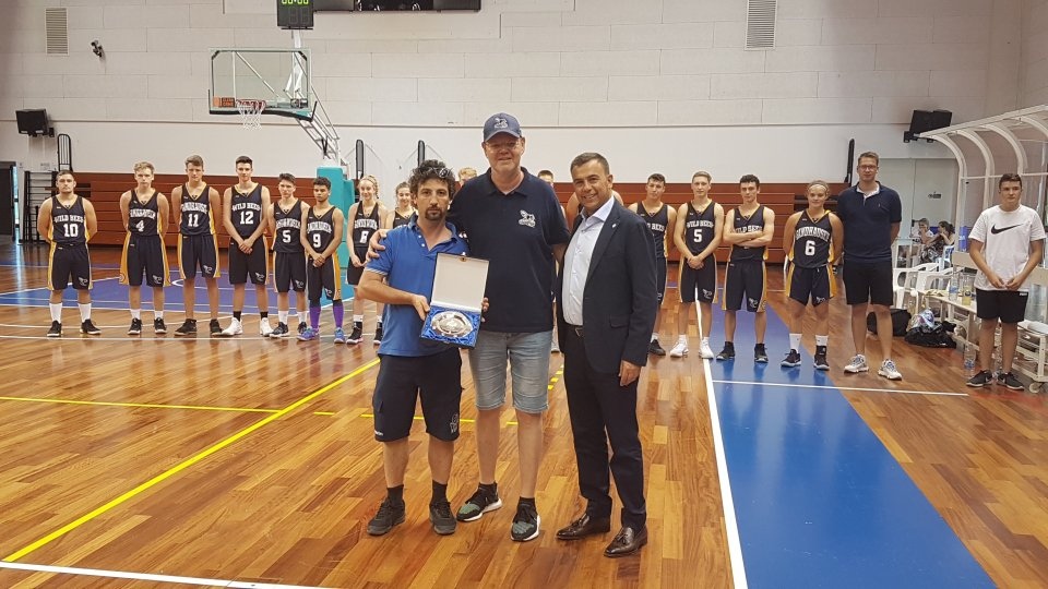 Basket: la Nazionale Under16 ha ospitato i Sandhausen Wild Bees