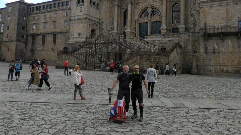 Giovanni Francesco Ugolini e Andrea Paesini sono arrivati a Santiango
