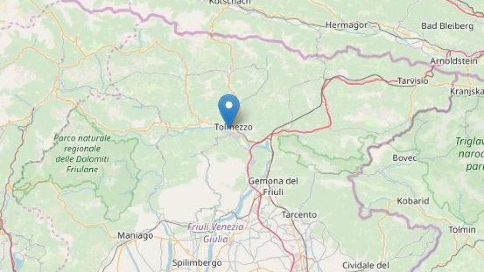 Terremoto: forte scossa in provincia di Udine
