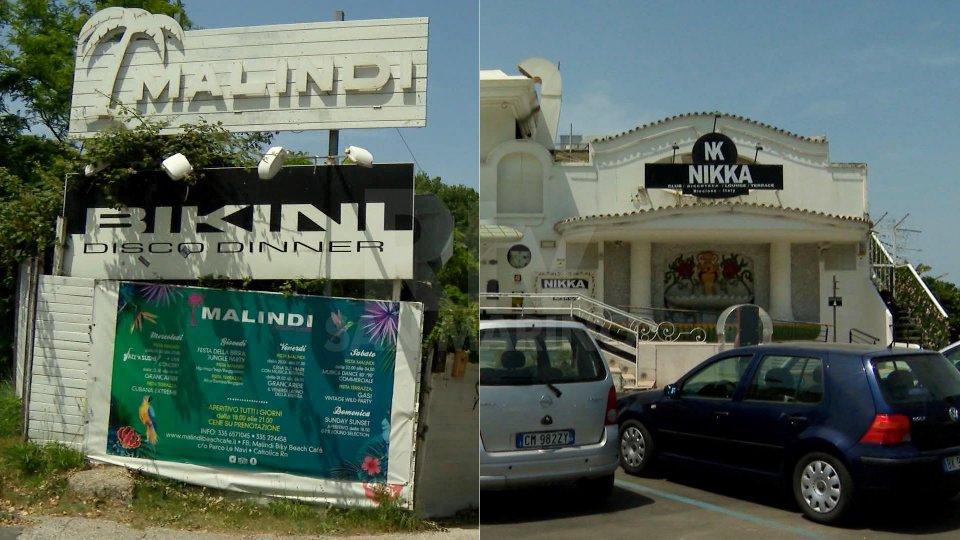 Malindi e NikkaLa Polizia chiude il 'Malindi' di Cattolica e il 'Nikka' di Riccione