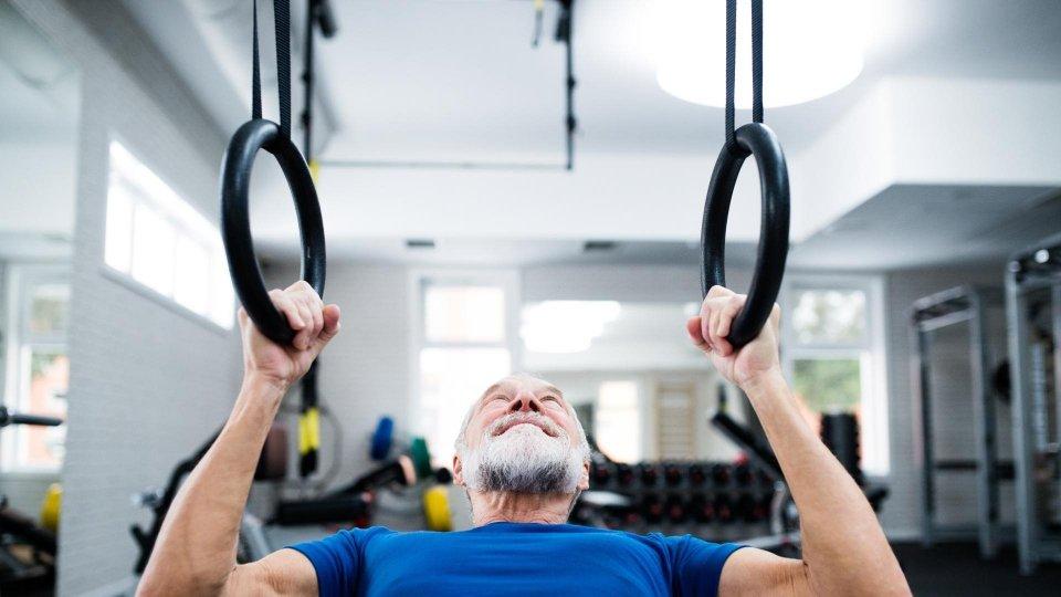 L'attività fisica negli uomini over 60 'allena' anche il cervello