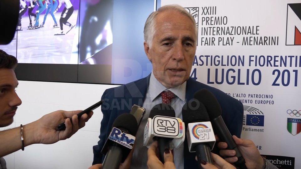 Nel video l'intervista a Giovanni Malagò, presidente Coni