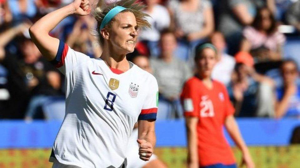 Vittoria degli Stati Uniti. Foto AFP/La Presse