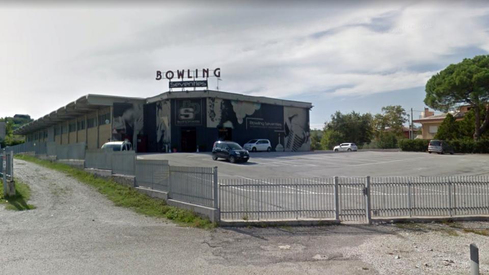 Il bowling di Cerasolo. Foto @google maps