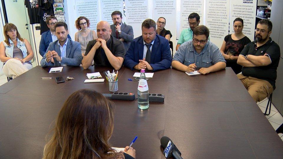 la conferenza stampala conferenza stampa