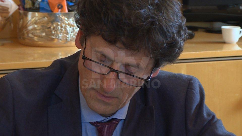 Guerrino Zanottii lavori dell'Esecutivo