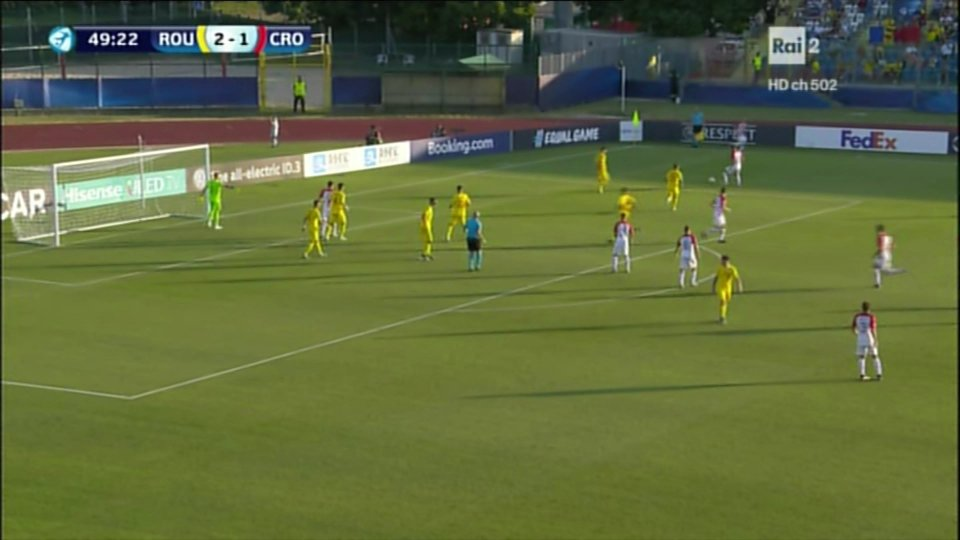 Euro U21, a San Marino la Romania batte 4-1 la Croazia