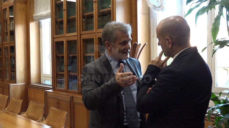 Franco Santi e Armando Bartolazzi