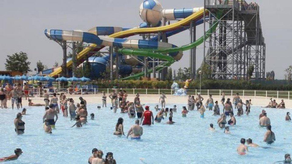 Una delle piscine di Mirabeach