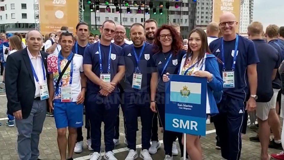 La delegazione sammarinese a Minsk