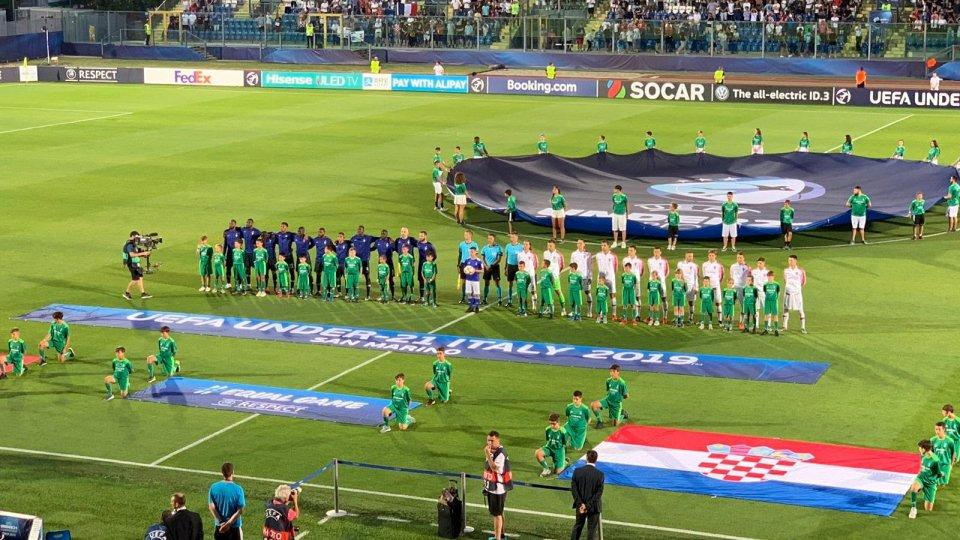 Europei: Francia-Croazia 1 a 0