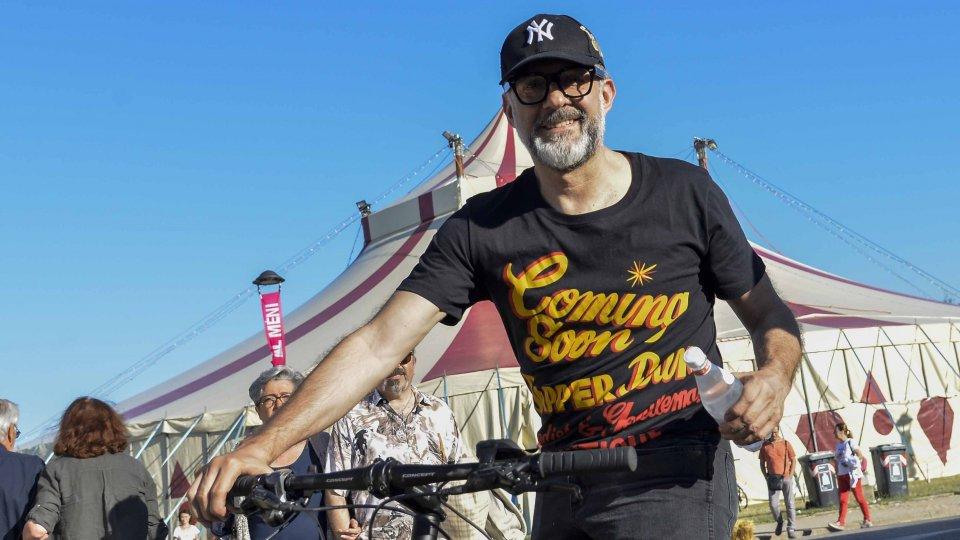 Massimo Bottura a Rimini per dare il via ad Al Meni, il circo mercato dei sapori