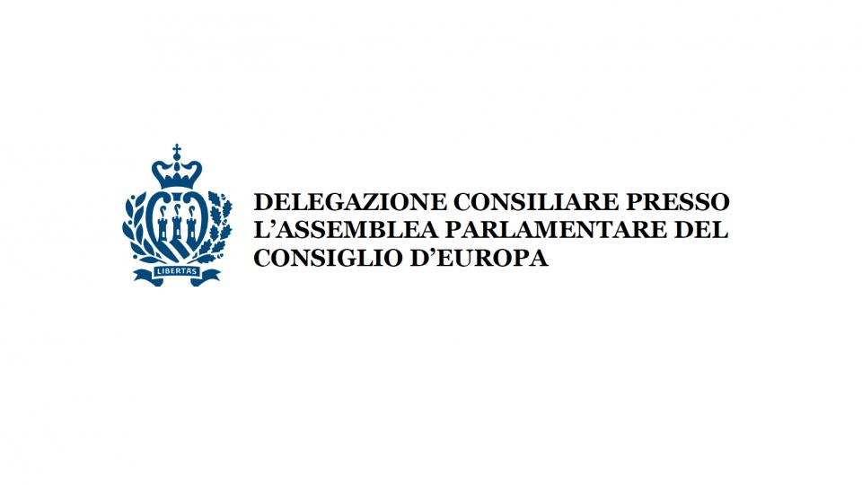 La delegazione sammarinese presso l'Assemblea Parlamentare del Consiglio d'Europa parteciperà ai lavori della III parte della sessione 2019
