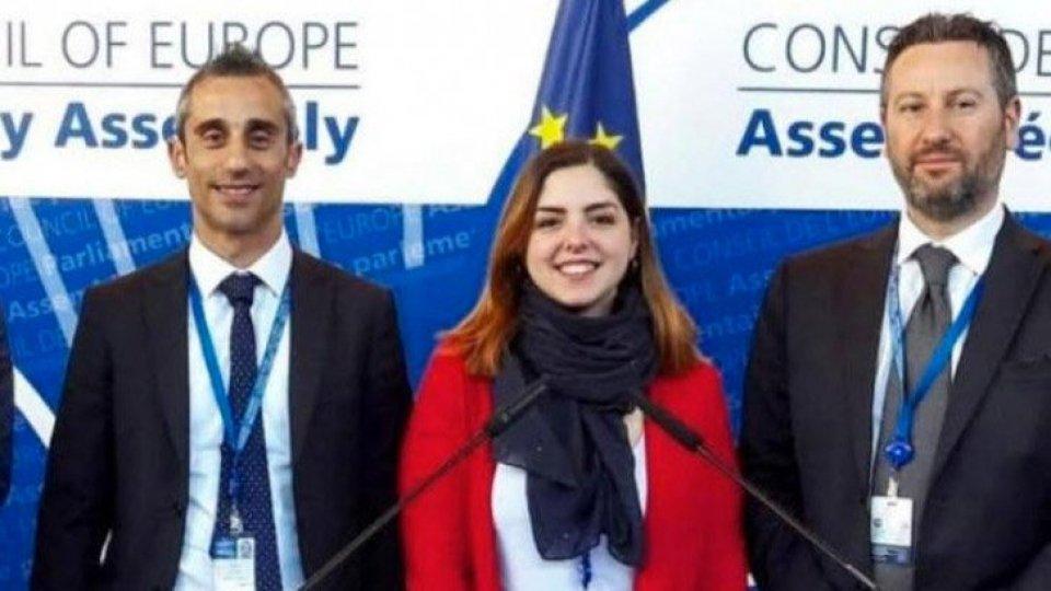 San Marino all'assemblea parlamentare di Strasburgo