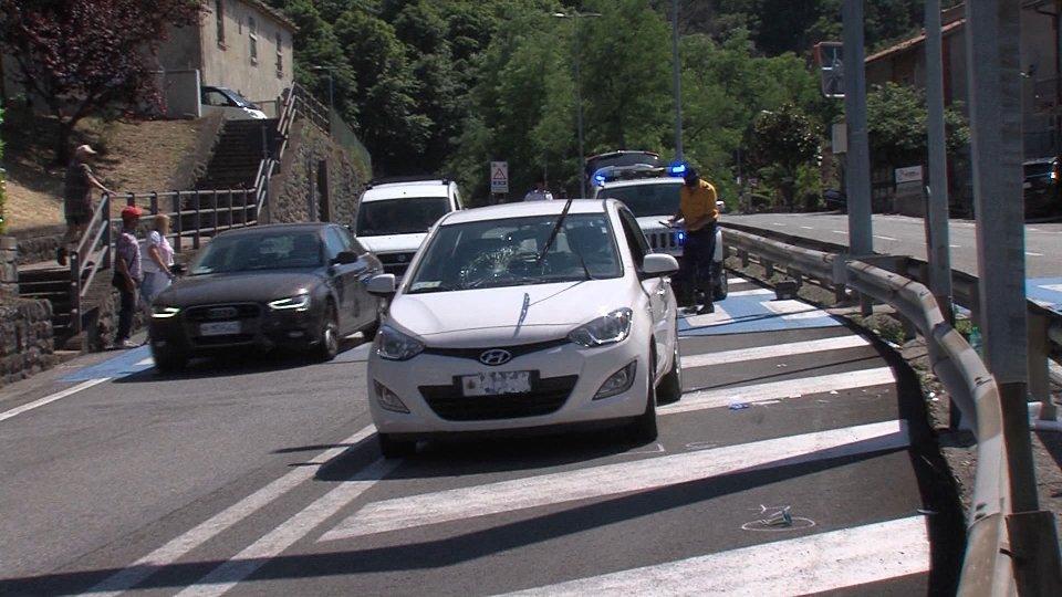 Travolta sulle strisce pedonali, la donna rimane all'Ospedale di San Marino