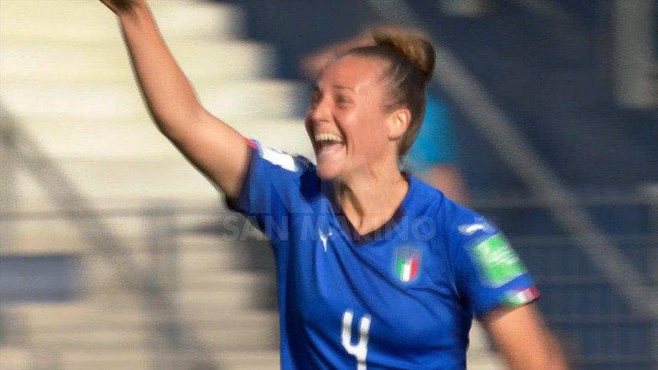 Prosegue il sogno delle Azzurre: Italia - Cina 2-0