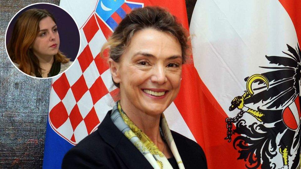 In collegamento Vanessa D'Ambrosio