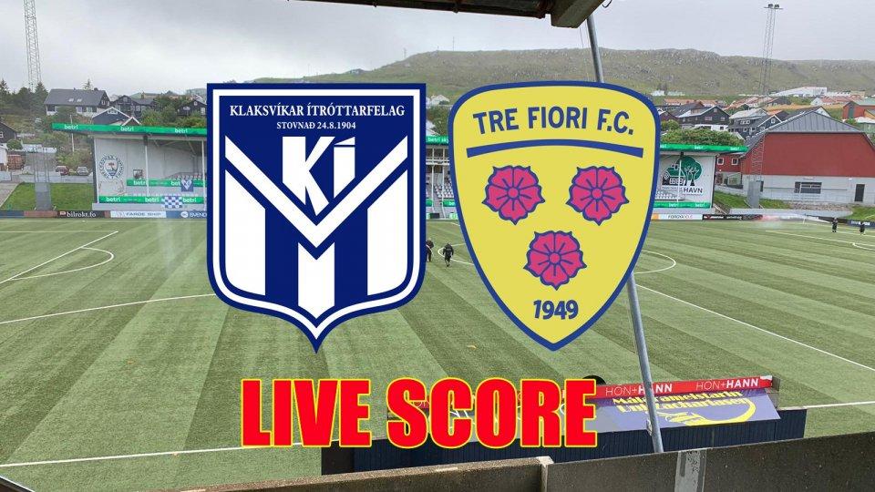 KÍ Klaksvík - Tre Fiori 5-1
