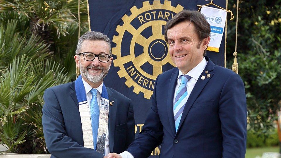 Alessandro Andreini nuovo presidente del Rotary Club Rimini