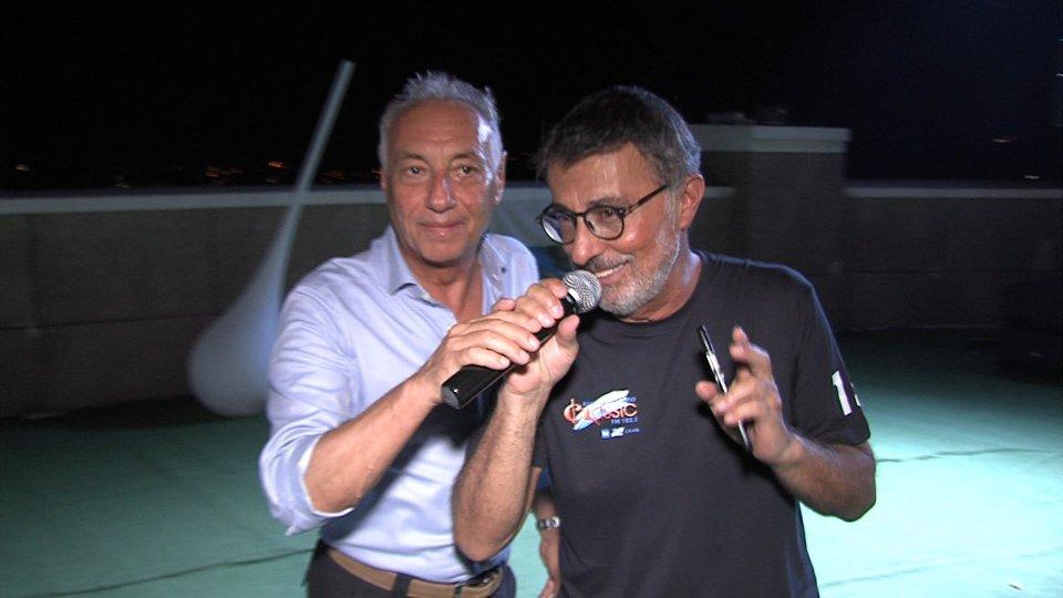 Giuseppe Cesetti e Stefano Coverila festa di Classic