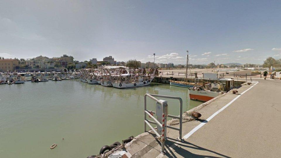 La zona del porto di Cattolica. Foto: Google Maps