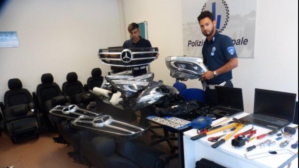 Rubava pezzi di ricambio per auto di lusso: la Polizia arresta un ucraino che viaggiava su auto rubata