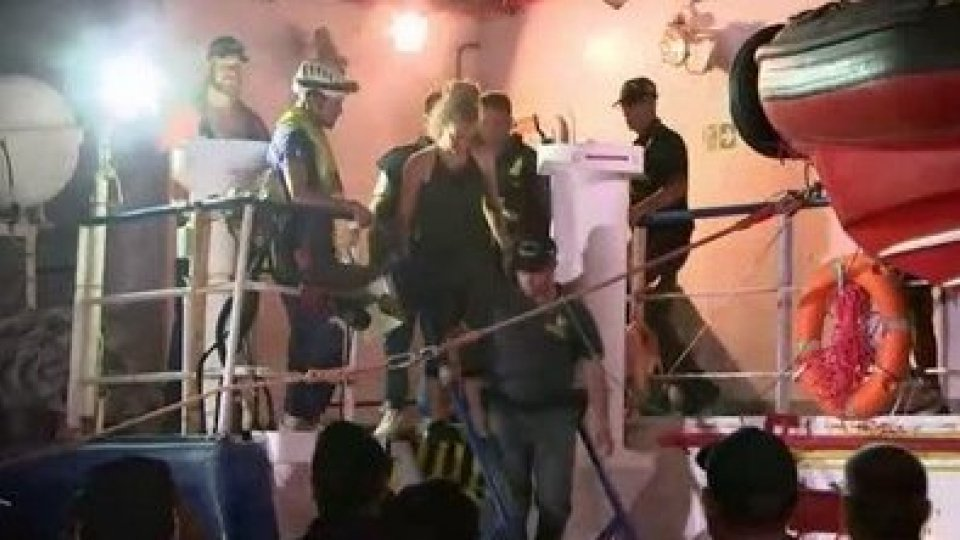 La Sea Watch a Lampedusa, arrestata la comandante