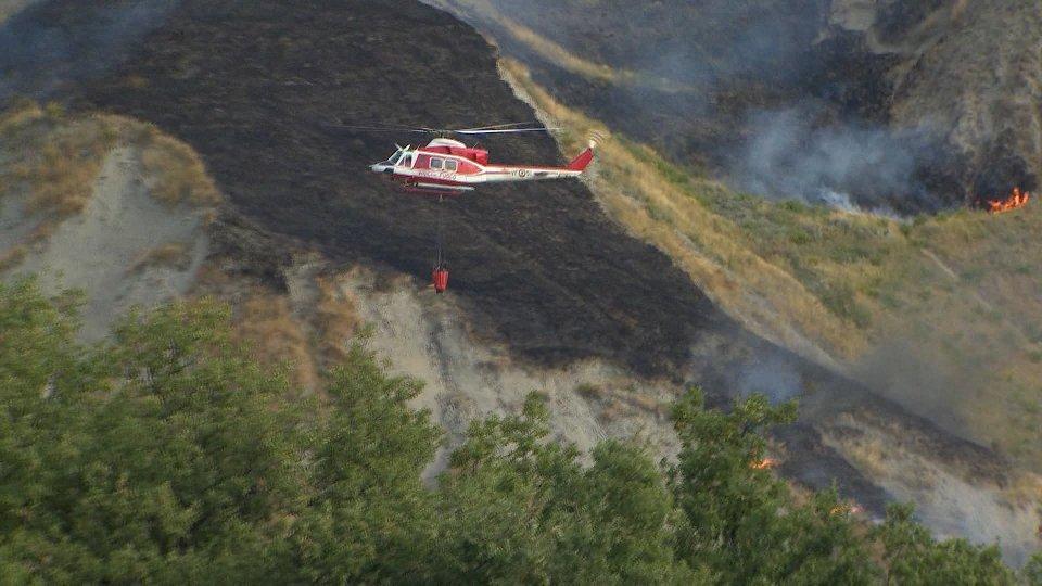 incendi boschiviAllarme incendi
