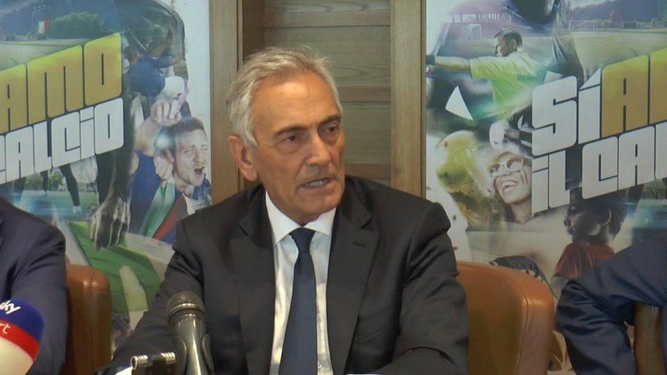 Gabriele GravinaIl Presidente della FIGC Gabriele Gravina
