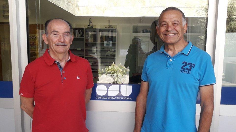 Elio Pozzi e Armando Stacchini