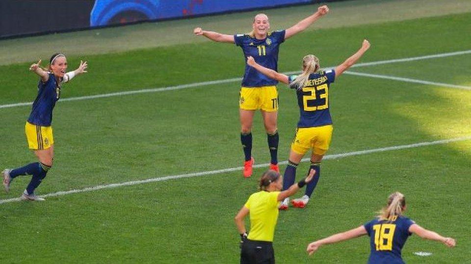 Mondiali donne, Svezia in semifinale: 2-1 alla Germania