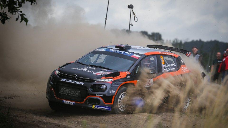Rally Polonia: prima vittoria stagionale per Alexey Lukyanuk