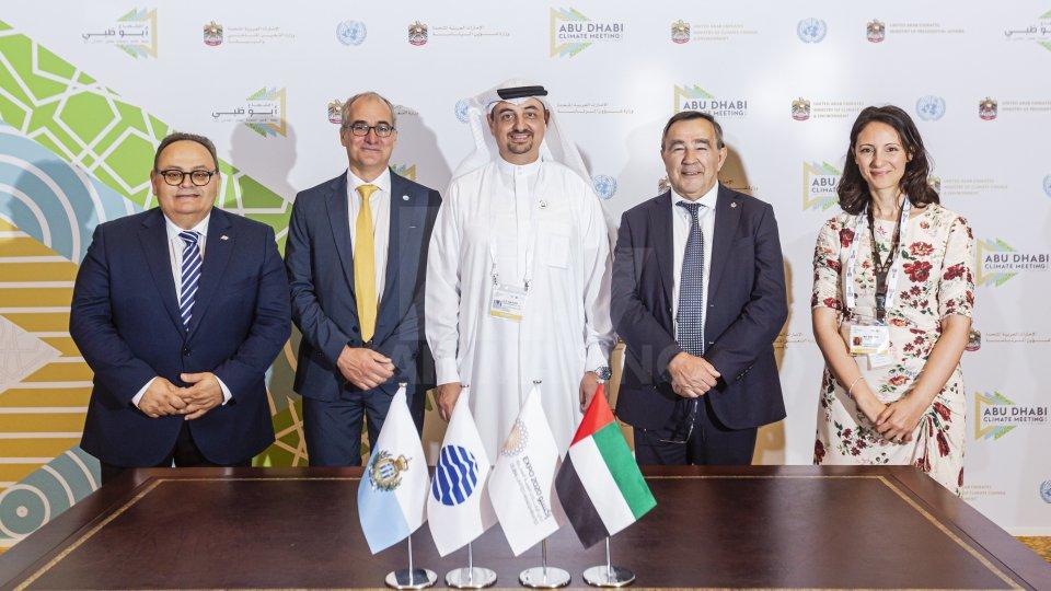 Antonio Kaulard ha firmato il contratto di partecipazione a Expo Dubai 2020