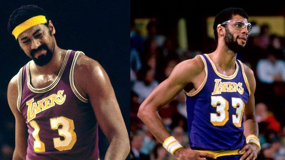 Wilt Chamberlain e Kareem Abdul Jabbar @NBA.com