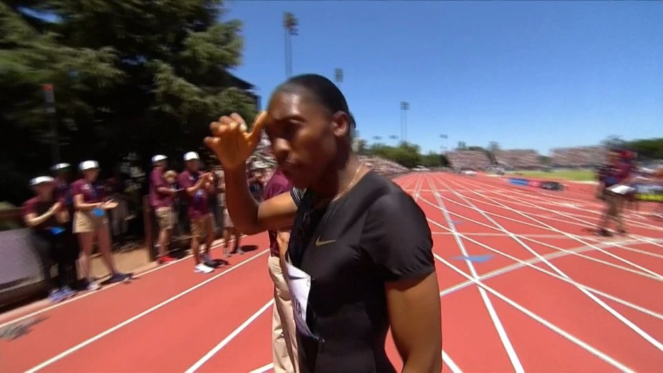 Diamond League: in California il rientro di Semenya che vince senza problemi