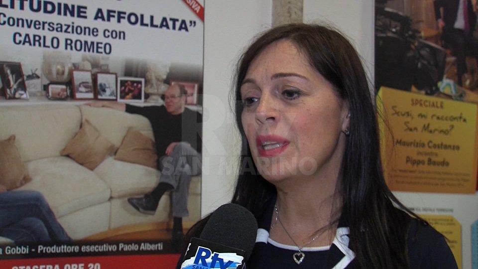 Il Segretario di Stato Eva Guidi