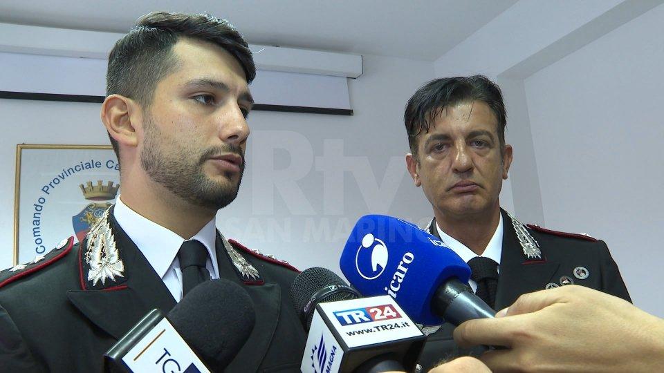 I Carabinieri di Riccione arrestano la banda dei Rolex