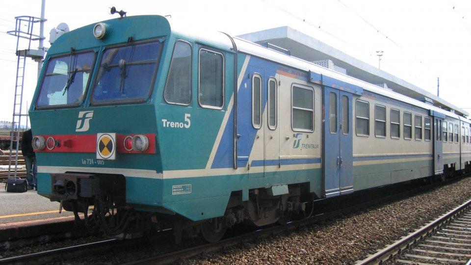 Investito anziano sulla linea ferroviaria Rimini - Bologna