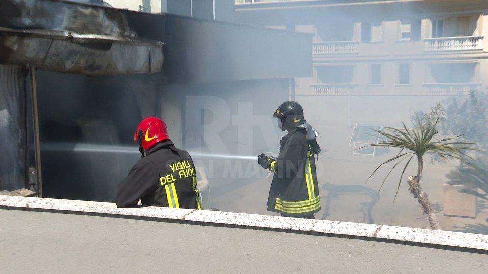 Incendio in hotel: titolari ricoverati al centro grandi ustionati del Bufalini, donna in prognosi riservata