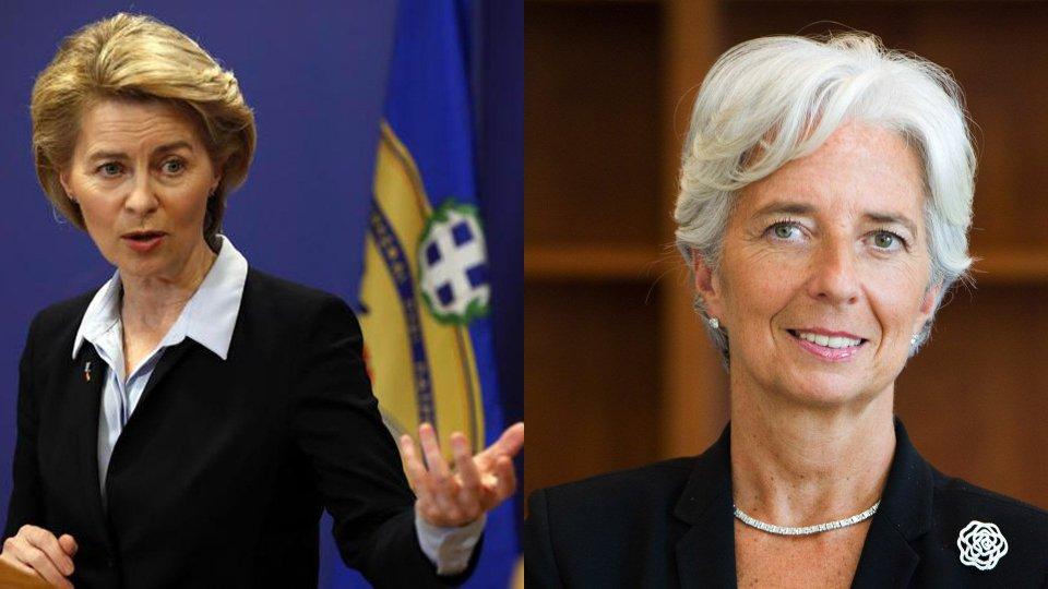 Accordo Ue: Von Der Leyen alla Commissione, Lagarde alla Bce