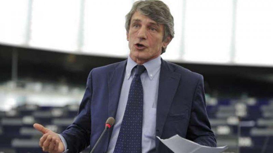 Sassoli presidente del Parlamento Ue