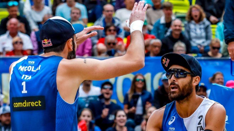 Beach volley: vittoria per Lupo e Nicolai. Stasera gli spareggi per la qualificazione