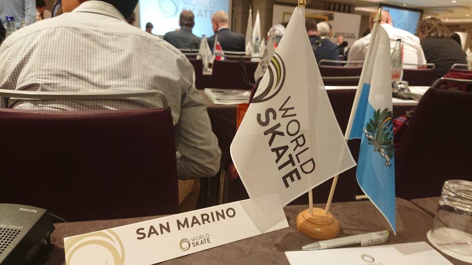 San Marino ai mondiali di Roller a Barcellona