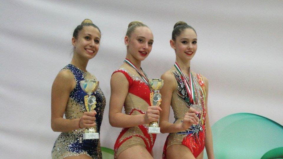 Ritmica: titane grandi protagoniste al Trofeo Città di Montegrotto Terme